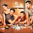 Friends Characters Poker TV Series 24x18 Print Poster