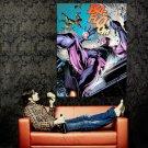 X Men Sentinel Juggernaut Marvel Comics Art Huge 47x35 Print POSTER