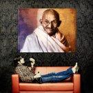 Mahatma Gandhi Drawing Huge 47x35 Print Poster