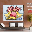 Kirby Super Star Ultra Video Game Huge Giant Print Poster