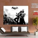 Batman Catwoman Arkham City Art Video Game Huge Giant Print Poster