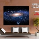 Andromeda Galaxy Stars Universe Space Huge Giant Print Poster