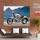 Bmw Classic Bike Motorcycle Huge Giant Print Poster