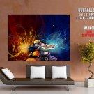 Naruto Sasuke Cool Anime Art Huge Giant Print Poster