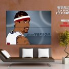 Allen Iverson Art Painting Nba Huge Giant Print Poster