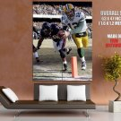 Aaron Rodgers Green Bay Packers Touchdown HUGE GIANT Print Poster