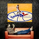 Allen Iverson Sixers 76ers NBA Basketball Huge 47x35 Print POSTER