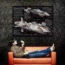 Separatist Ships Star Wars Movie Huge 47x35 Print POSTER