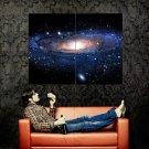 Andromeda Galaxy Stars Universe Space Huge 47x35 Print POSTER