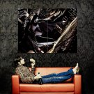 Batman Gotham City Night Bruce Wayne Rain Movie Art Huge 47x35 POSTER