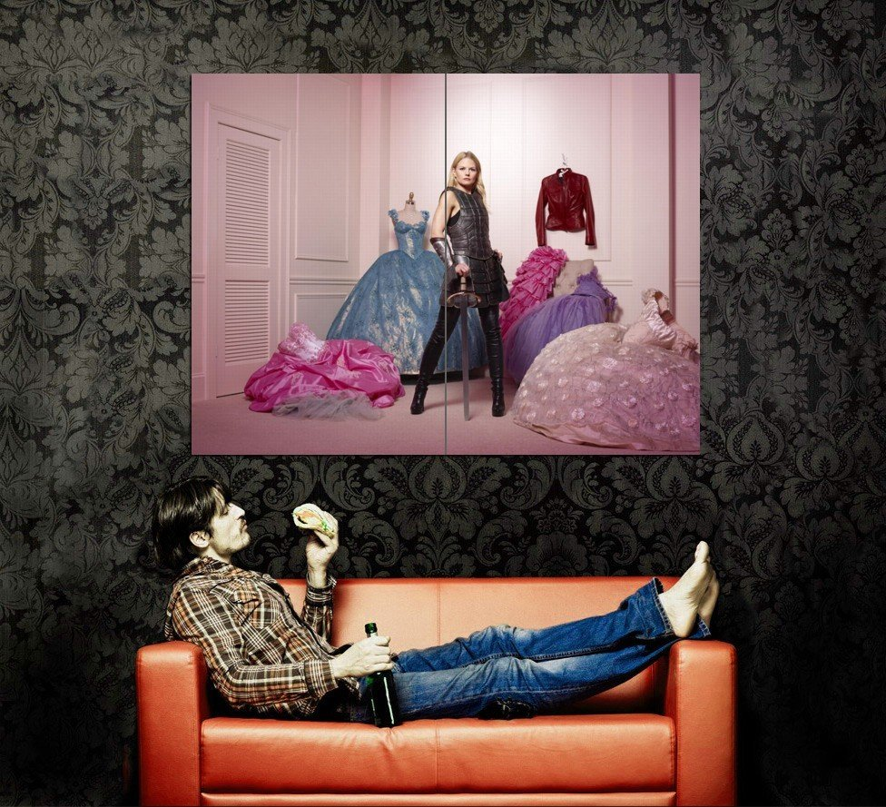 Once Upon A Time TV Series Huge 47x35 Print Poster
