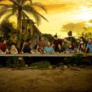 Lost Characters Last Supper TV Series 32x24 Print POSTER