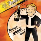 Vault Boy Fallout Nuka Beer Ad Video Game 24x18 Print POSTER