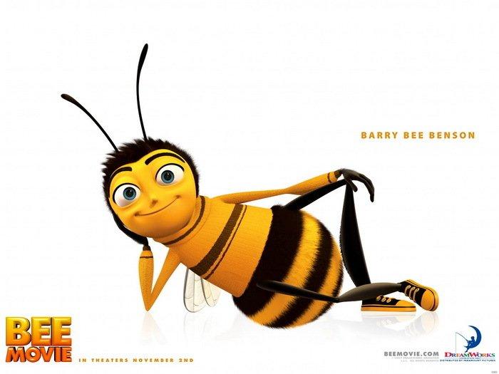 Bee Movie Barry Benson Art Print 24x18 POSTER