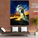 Back To The Future Adv Movie Fantasy Christopher Lloyd HUGE GIANT Print POSTER