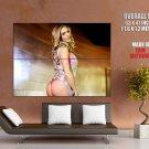 Samantha Saint Hot Blonde Model Sexy Butt HUGE GIANT Print Poster
