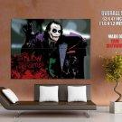 Joker Art The Dark Knight Movie Huge Giant Print Poster