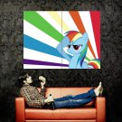 My Little Pony Friendship Is Magic Rainbow Huge 47x35 Print Poster