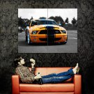 Ford Mustang Shelby GT 500 Muscle Car Huge 47x35 Print POSTER