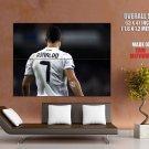 Cristiano Ronaldo Real Madrid Football HUGE GIANT Print Poster