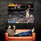 Kobe Bryant Dunk LA Lakers NBA Huge 47x35 Print Poster