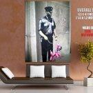 Policeman Balloon Dog Banksy Graffiti Street Art Huge Giant Print Poster