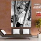 Marlon Brando Smoking Young Actor Bw Huge Giant Print Poster