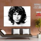 Jim Morrison The Doors Psychedelic Rock Band Music Bw Huge Giant Print Poster