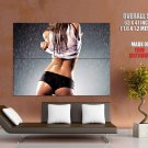 Sexy Girl Stripping Wet Butt Panties Huge Giant Print Poster