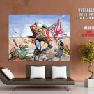 Iron Maiden Dead Trooper Music HUGE GIANT Print Poster