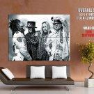 Motley Crue Rock Band Art Huge Giant Print Poster