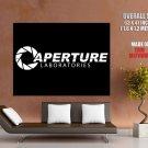 Aperture Laboratories Logo Portal Science HUGE GIANT Print Poster