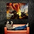 Guild Wars Battle Art Mmorpg Huge 47x35 Print Poster
