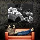 Roberto Duran Samaniego Boxing BW Sport Huge 47x35 Print POSTER
