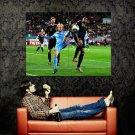 Diego Forlan Uruguay Football Sport Huge 47x35 Print POSTER