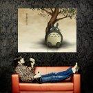 Tonari No Totoro Anime Art Huge 47x35 Print Poster