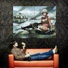 BORN TO KILL Tanks Hot Military War Huge 47x35 Print Poster