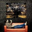 Lynyrd Skynyrd Hard Rock Music Band Art Huge 47x35 Print Poster