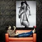 Jennifer Aniston Hot Actress Sexy Boobs BW Huge 47x35 Print Poster