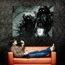 Warcraft Dark Elves Fantasy Art Huge 47x35 Print Poster