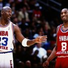 Michael Jordan Kobe Bryant All Star Game NBA Basketball 32x24 POSTER