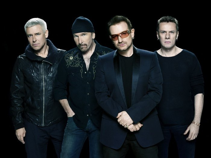 U2 Rock Band Music Rock Alternative Post Punk 32x24 Print POSTER