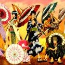 Anime One Piece Kimono Art 16x12 Print Poster