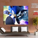 Sonic Unleashed Video Game Art Huge Giant Print Poster