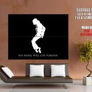 Michael Jackson Art Music Singer Huge Giant Print Poster