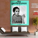 Adele The Gentlewoman Retro Style Music Huge Giant Print Poster