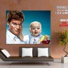Dexter Tv Series Michael C Hall Baby Huge Giant Print Poster