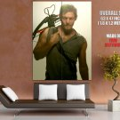 Daryl Dixon The Walking Dead Crossbow Huge Giant Print Poster