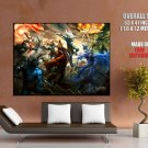 Dot A Defense Of The Ancients Battle Art Huge Giant Print Poster