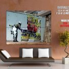 Decorator Banksy Graffiti Street Art Huge Giant Print Poster